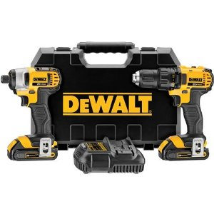 Dewalt DCK-280C2 20-Volt Max Drill Combo Kit Review