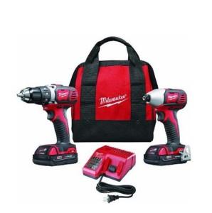 Milwaukee 2691-22 M18 18-Volt Cordless Drill Combo Kit