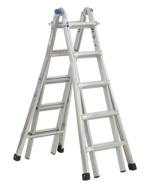 Werner MT-22 telescoping multi ladder