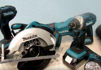 Makita XT505 set on the table