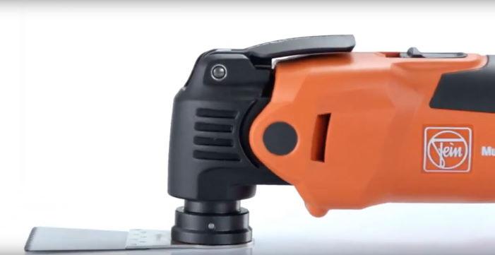 FEIN FMM350QSL MultiMaster with e-cut saw blade